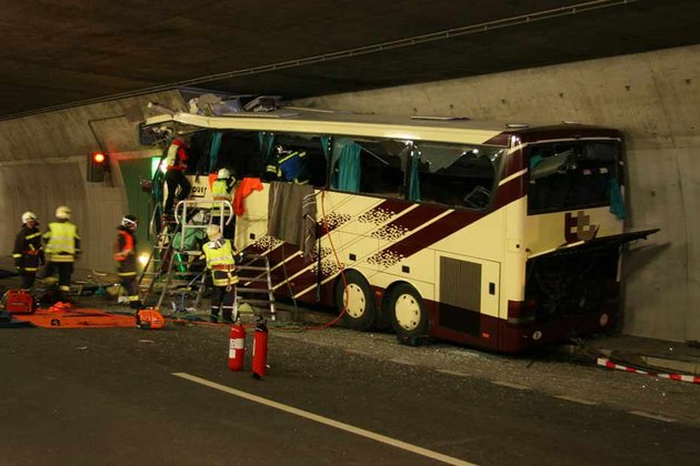 Un DVD en cause dans l'accident de bus en Suisse